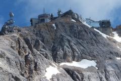 Blick auf die Zugspitze vom Zugspitzplatt