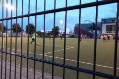 Fußball vor dem Millerntor