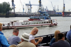 Viel Verkehr auf dem Wasser