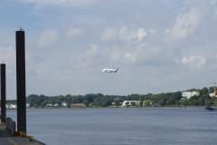 Landung in Finkenwerder
