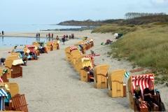 Strandkorbparade in Wustrow