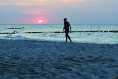 Sonnenuntergang mit Anmut