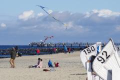 Am Strand von Kühlungsborn, Oktober 2020