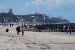 Teleobjektiv-Blick auf Kühlungsborn West, Ostern 2014