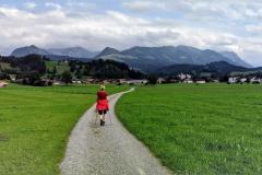 In der Nähe von Sonthofen im Oberallgäu