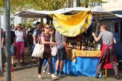 Wochenmarkt in Osnabrück im September 2014