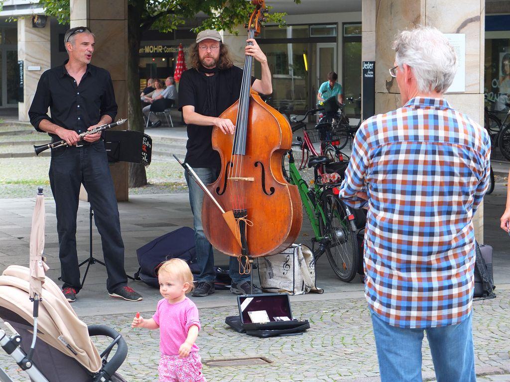 Straßenmusik in Osnabrück