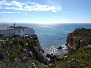Steilküste in Peniche