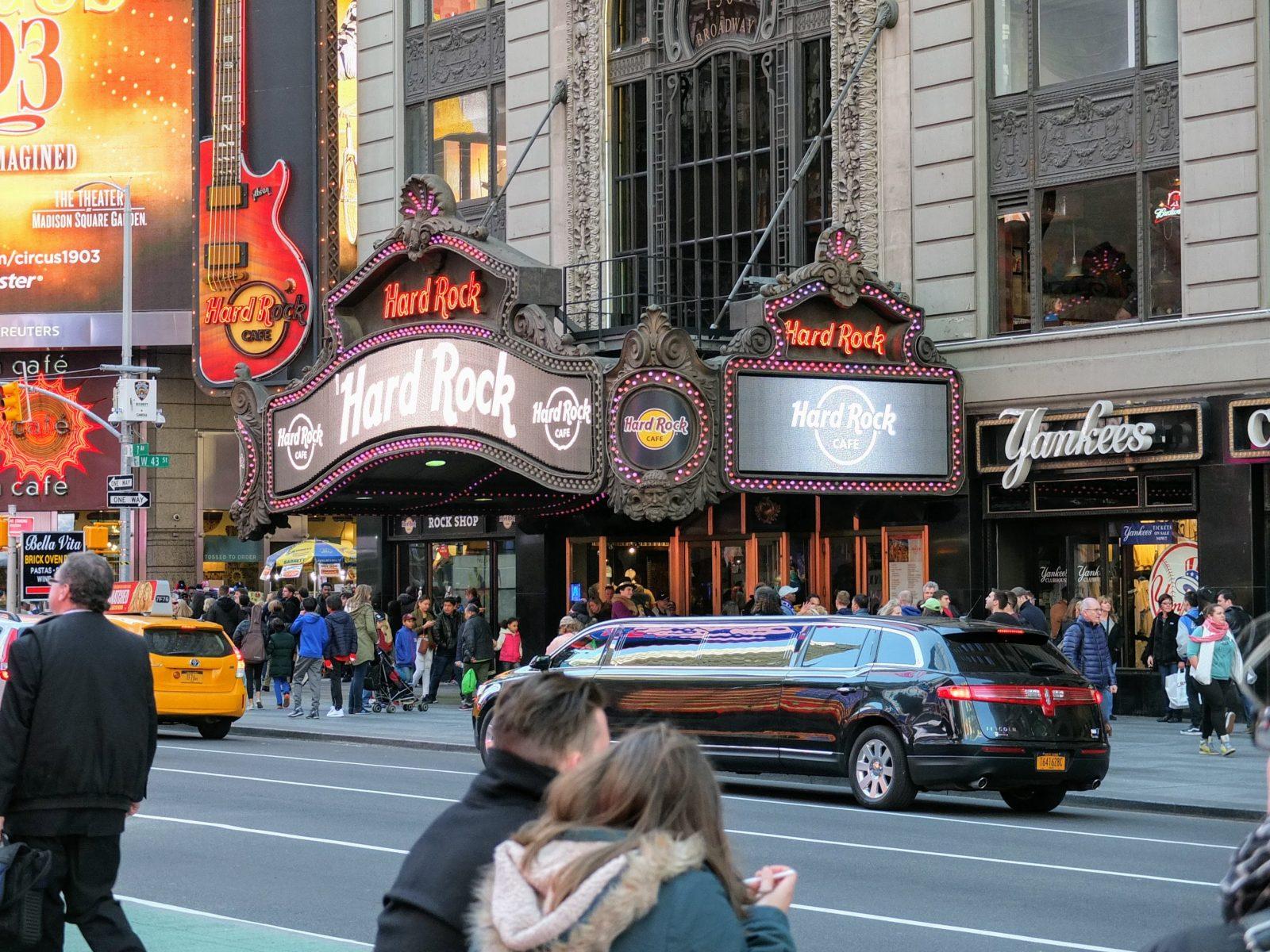 New York, Hard Rock Cafe, 2017